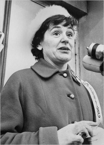 Dagmar Wilson, the leader of Women Strike for Peace (WSP)
